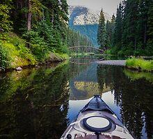 Kayaking to the Rainbow Bridge by Sheri Bawtinheimer