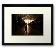 The New Day Framed Print