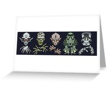 Monster Squad Greeting Card