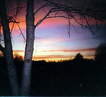 Winter Sunset by headj80