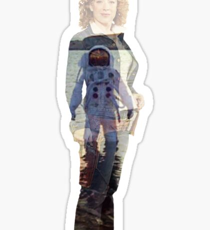 The Impossible Astronaut - River Song Sticker