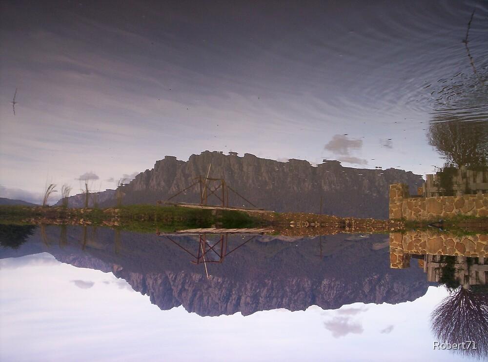Mount Roland Upside Down by Robert71