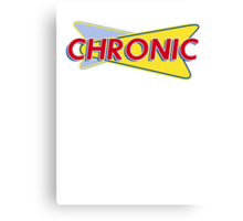 Chronic Drive In Canvas Print
