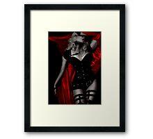 Crimson Heart II Framed Print