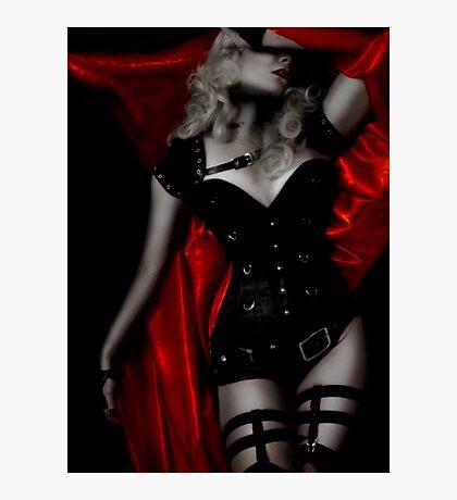 Crimson Heart II Photographic Print
