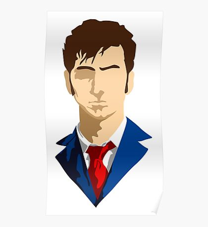 Doctor Who David Tennant 10 Poster