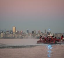 Canadian Coast Guard by Sheri Bawtinheimer