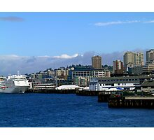Seattle Harbor Photographic Print