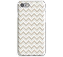 Gold Glitter Chevron Pattern iPhone Case/Skin