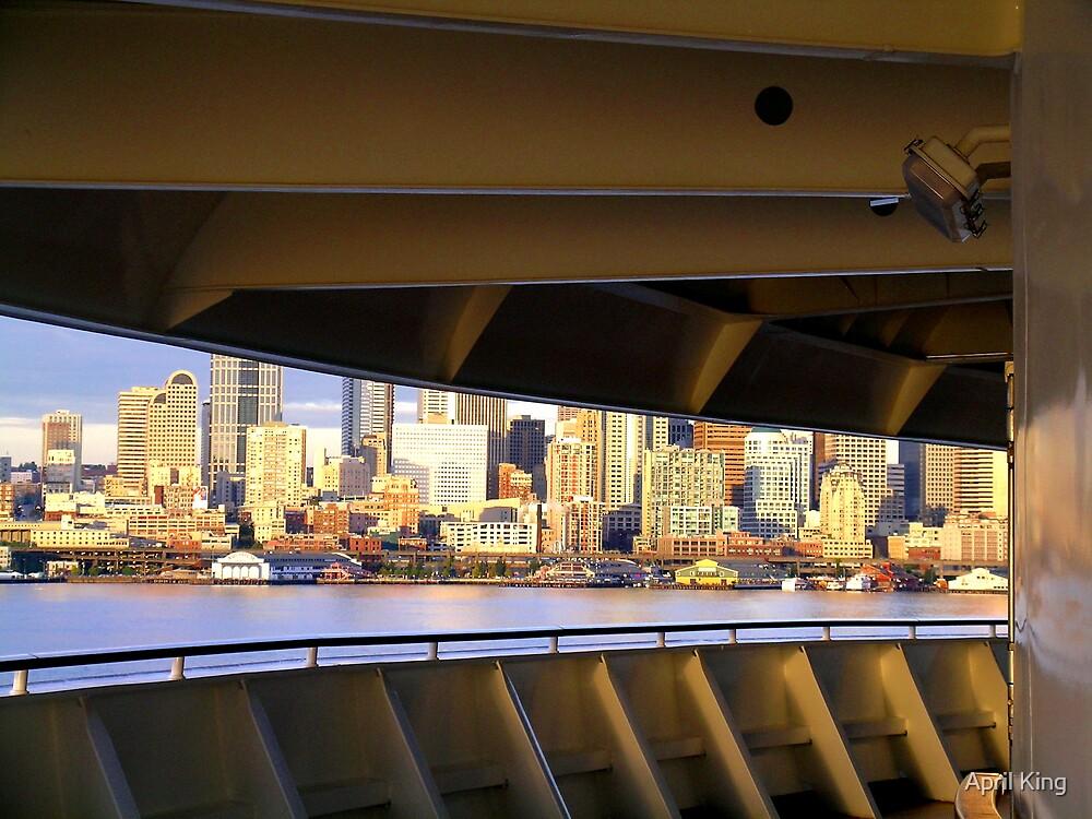 Seattle Skyline  by April King