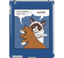 Grumpy revenge iPad Case/Skin