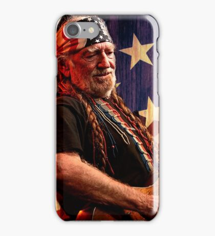 The Legend Of Willie nelson iPhone Case/Skin