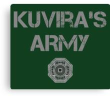 Kuvira's Army  Canvas Print