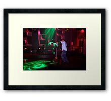 Green Dancer Framed Print