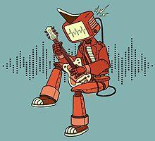 Rock-a-Billy Robot by Megan Kelly