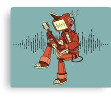 Rock-a-Billy Robot Canvas Print