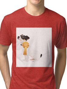 Proud Jack Russell Puppy Tri-blend T-Shirt