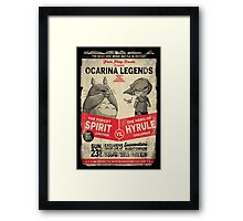 Ocarina Legends Framed Print