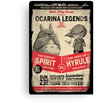 Ocarina Legends Canvas Print