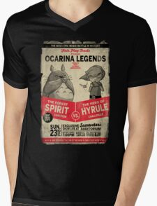 Ocarina Legends Mens V-Neck T-Shirt