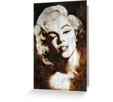 Blonde Bombshell Greeting Card