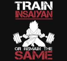 Train Insaiyan Remain Same - Vegeta by Pickadree