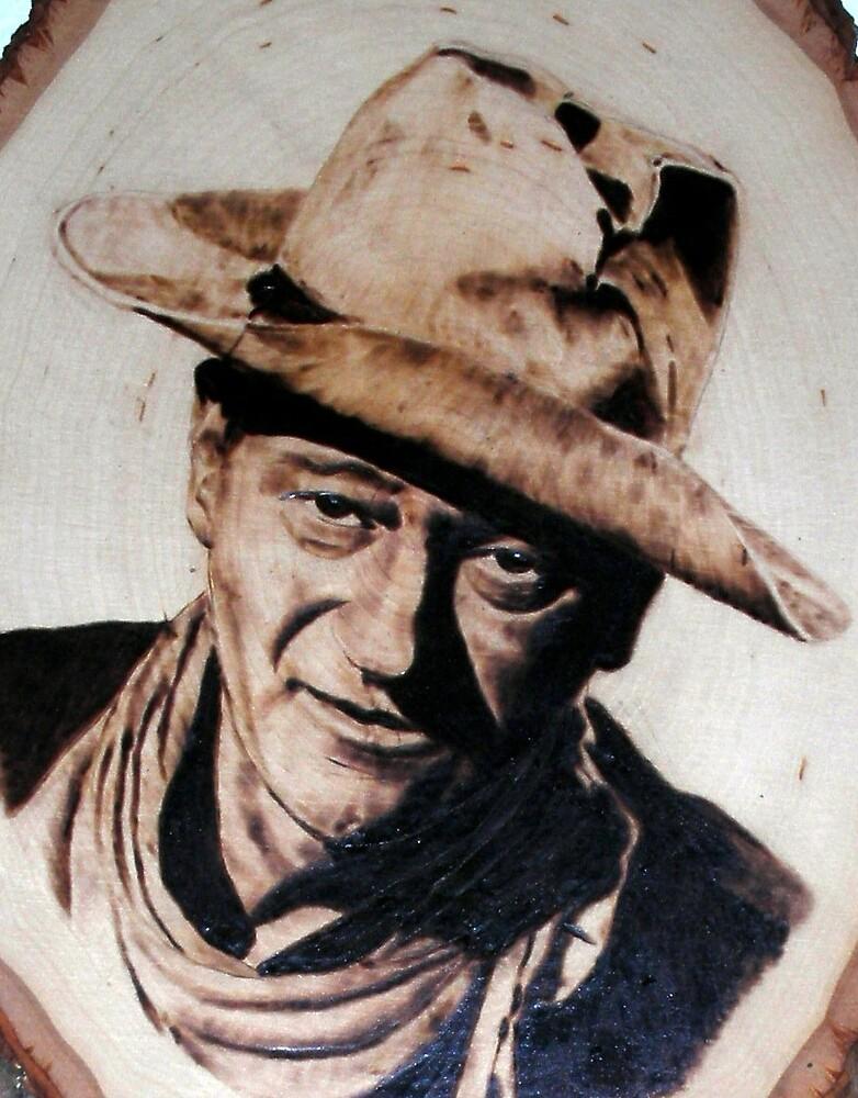 John Wayne 1 by burntmemories