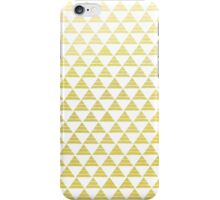 Golden Hipster Triangles iPhone Case/Skin