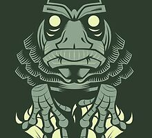 Creature from the Black Lagoon by Megan Kelly