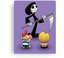 The Grim Adventures of Jack Canvas Print