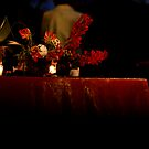 Candle light by Leigh Ann Pobiak