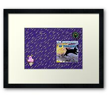 The adventures of Tinsycat, a children's picture book Framed Print
