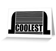 Intercooler - Coolest Greeting Card