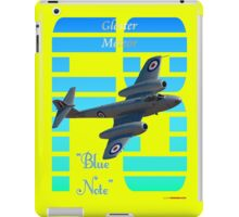 "Gloster Meteor F8 ""Blue Note"" T-shirt Design iPad Case/Skin"
