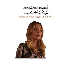 """Chicago Fire - Leslie Shay """"Sometimes people.."""" by D. Abdel."""