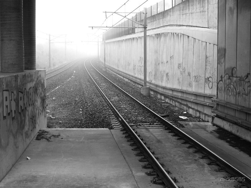 foggy track to Bayswater by mick8585