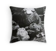 Mother And Child Headstone Throw Pillow