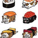 Sushi English Bulldog by Huebucket