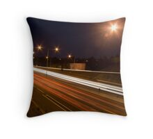 Eastern Freeway Throw Pillow