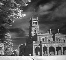 Werribee Mansion in IR by John Barratt