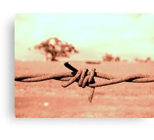 Barbed! Canvas Print