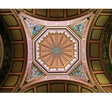 Melbourne Exhibition Building Ceiling Detail Photographic Print