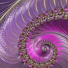 Pink And Purple by Steve Purnell