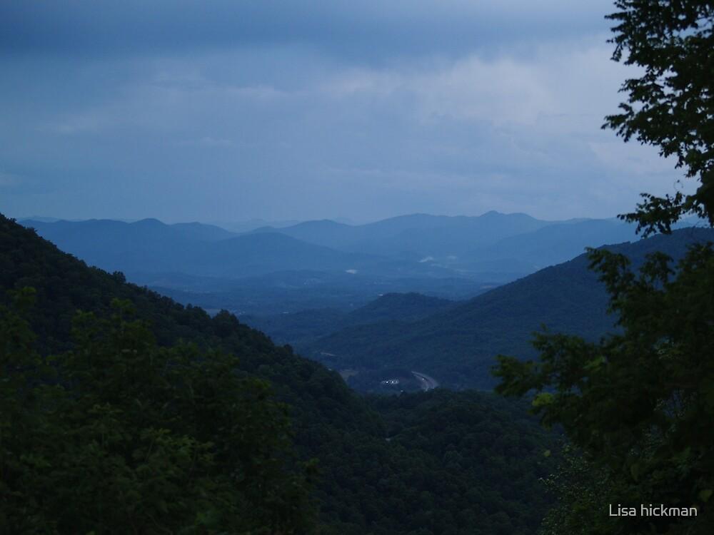 blue ridge mountians by Lisa hickman