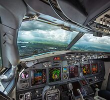 Stormy approach towards Amsterdam by MartijnKort