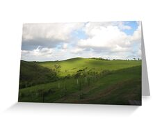 byron hills Greeting Card