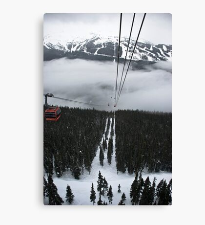 Ride to the Top Canvas Print