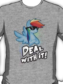 Rainbow Dash Deal With It T-Shirt