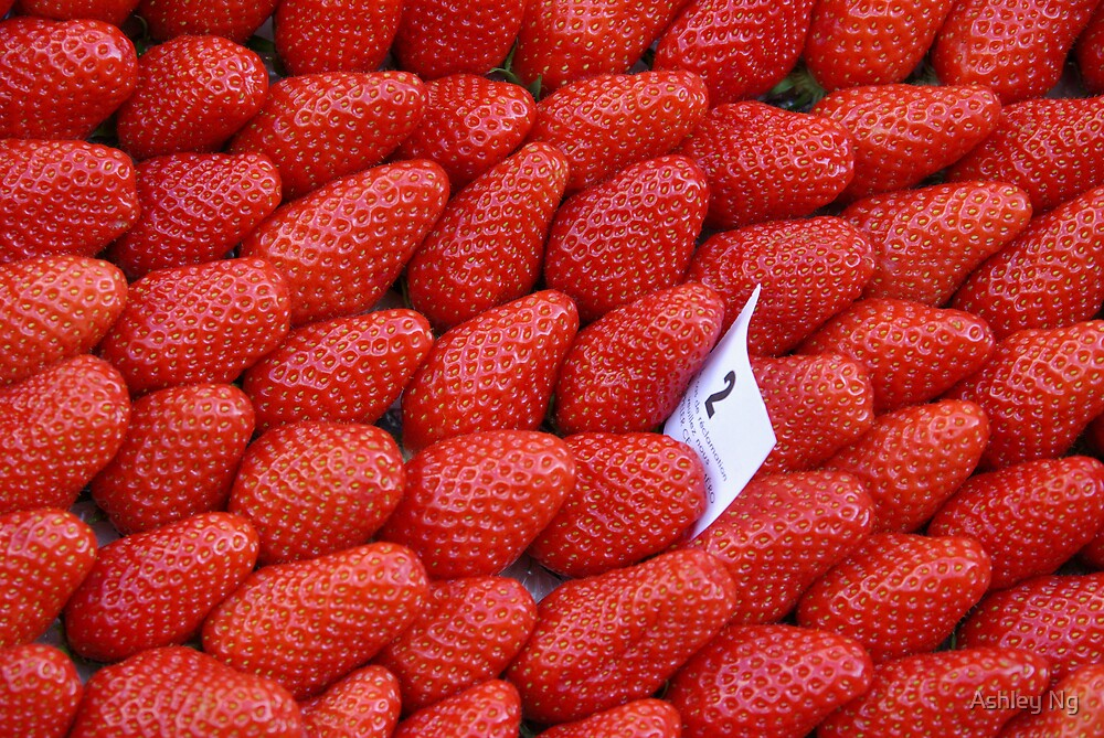 Strawberries from Rue Moffetard by Ashley Ng