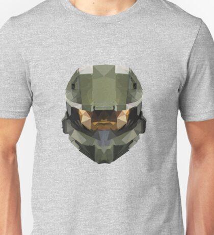 Halo Master Chief Poly Unisex T-Shirt